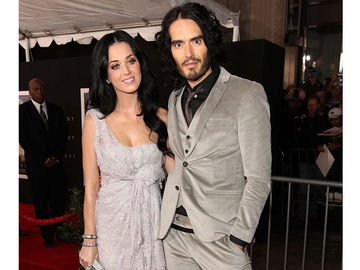 Katy Perry und Russel Brand