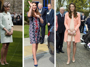 Outfits von Kate Middleton